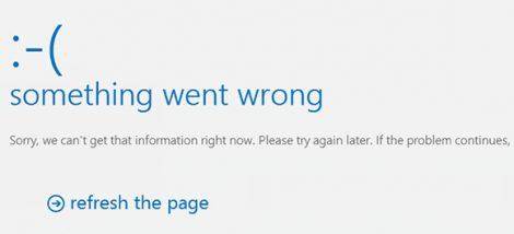 Exchange 2013 - something went wrong